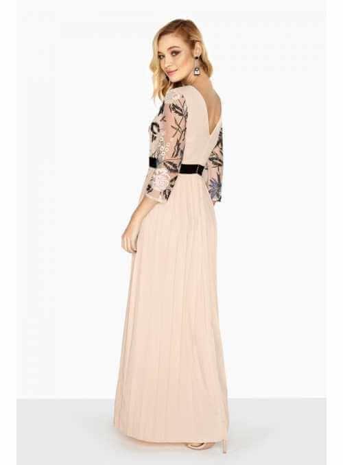 """Maxi pleated dress """"Miss D"""""""