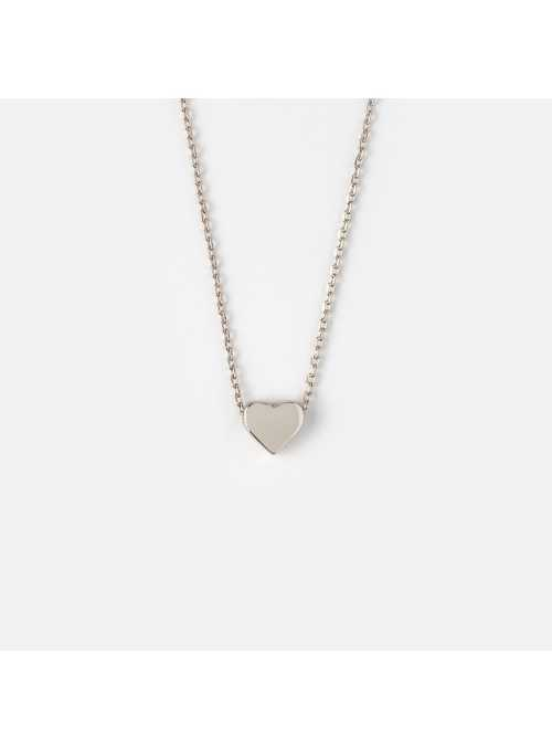 "Necklace ""Silver Heart"""