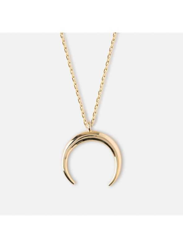 "Necklace""Gold moon"""
