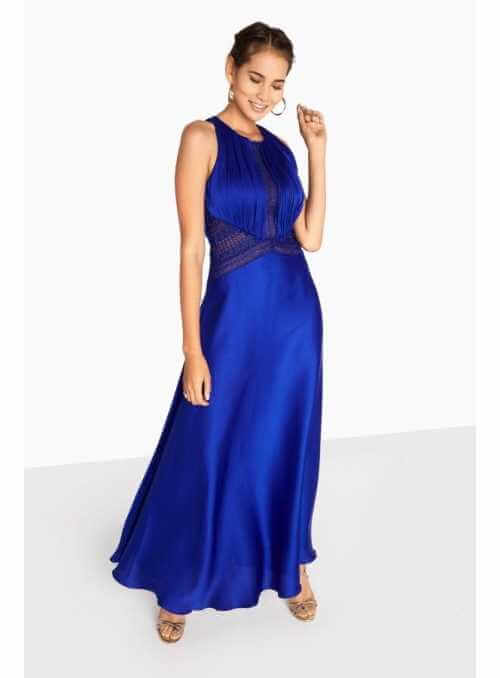 """PREDOBJEDNÁVKA Maxi šaty """"Satin royal"""""""