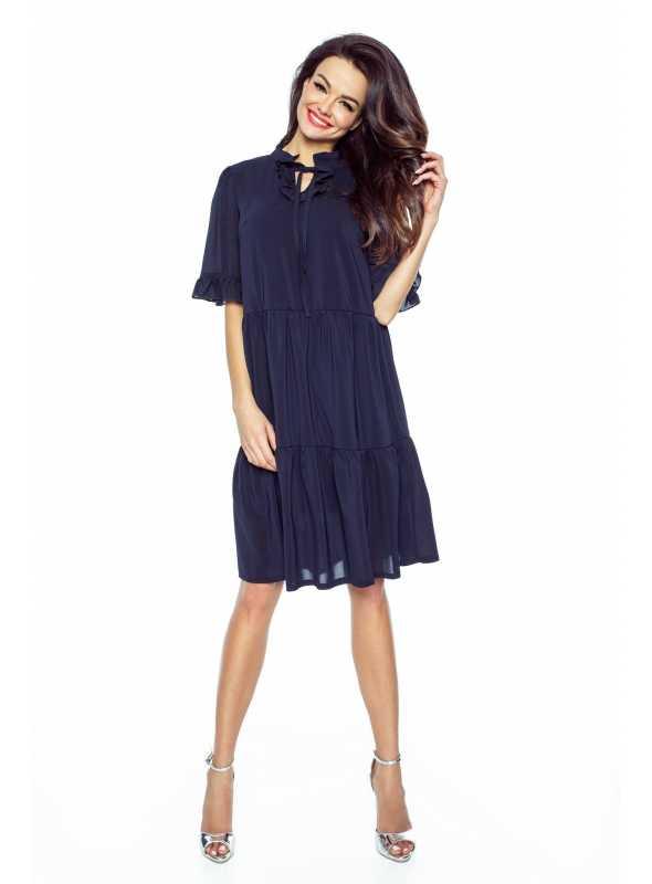 """Šaty """"BOHO"""", modré"""