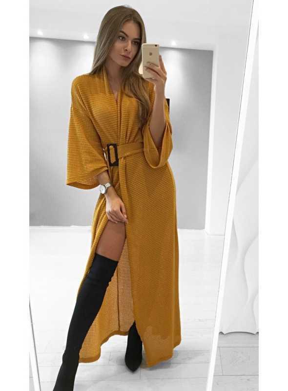 """Kimono """"Mustard"""" - Dadoo 43849a71667"""