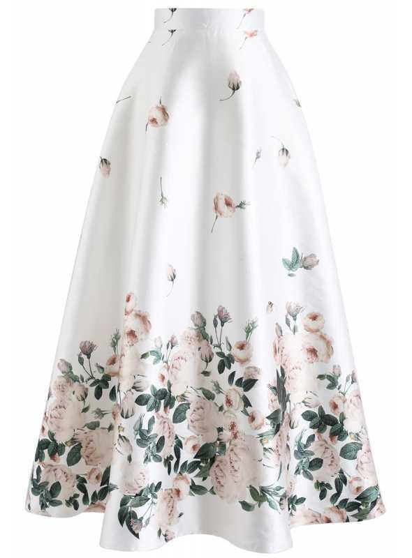 """87d2533500ee Maxi sukňa """"Rosie"""" - Dadoo"""