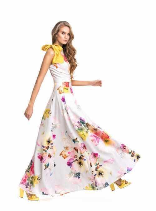 "Maxi šaty ""Venice"""