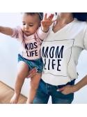 """Tričko """"Mom life"""""""