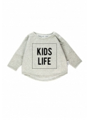KIDS LIFE - children's sweatshirt, gray