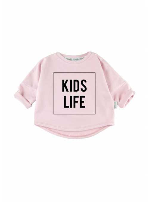 KIDS LIFE - children's sweatshirt, pink
