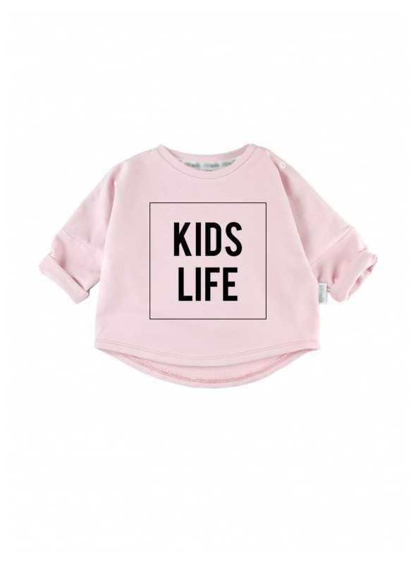 KIDS LIFE – dětská mikina, růžová