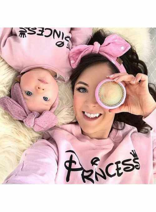 PRINCESS - pink women's sweatshirt