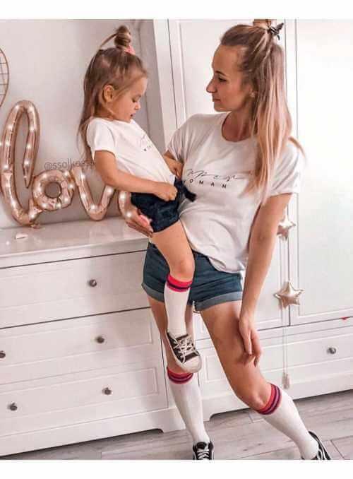 LITTLE WOMAN – dětské tričko