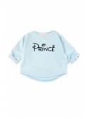 PRINC – bledomodrá detská mikina