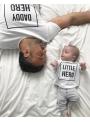 LITTLE HERO – dětské tričko, bílé