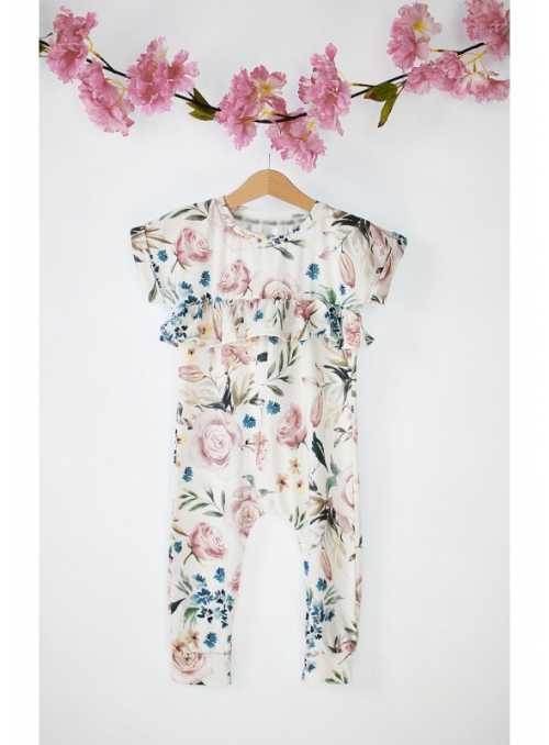 Summer jumpsuit ROSE GARDEN