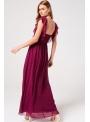 """Maxi šaty """"Slečna Bordeaux"""""""