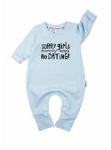 """""""Sorry girls"""" – detské body tyrkysové"""
