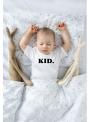 KID. – detské tričko, biele - 6-12 mes