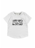 """Sorry girls ..."" - children's T-shirt, white"