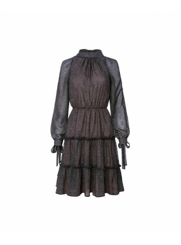 Šaty Josefina - dámske tmavomodré šaty