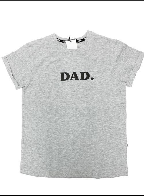 DAD. – pánske tričko, šedé- S