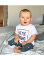 LITTLE HERO – detské tričko, biele
