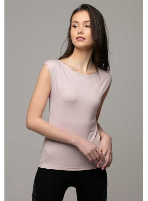 Mauve sleeveless top