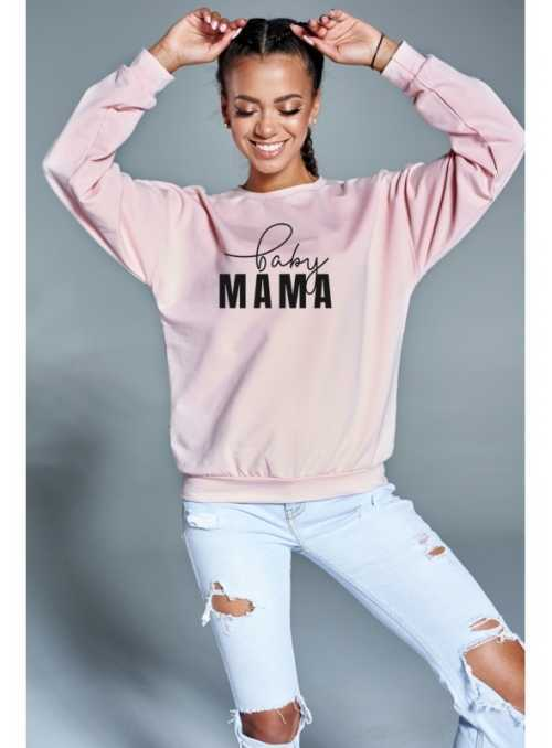 """""""BABY mama"""" – dámska mikina"""
