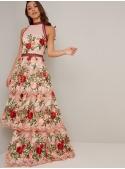"""Maxi dress """"Garden of love"""""""