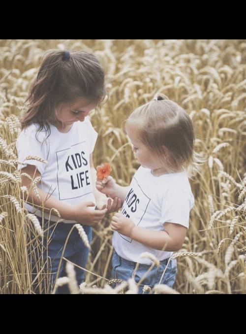 KIDS LIFE – detské tričko, biele