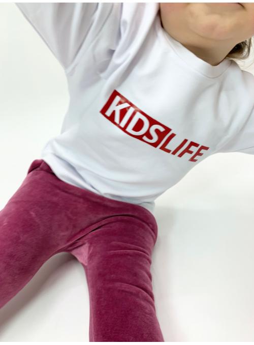 KIDS LIFE – detská mikina, biela