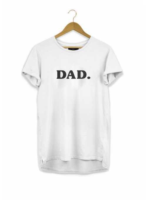 DAD. – pánske tričko, biele