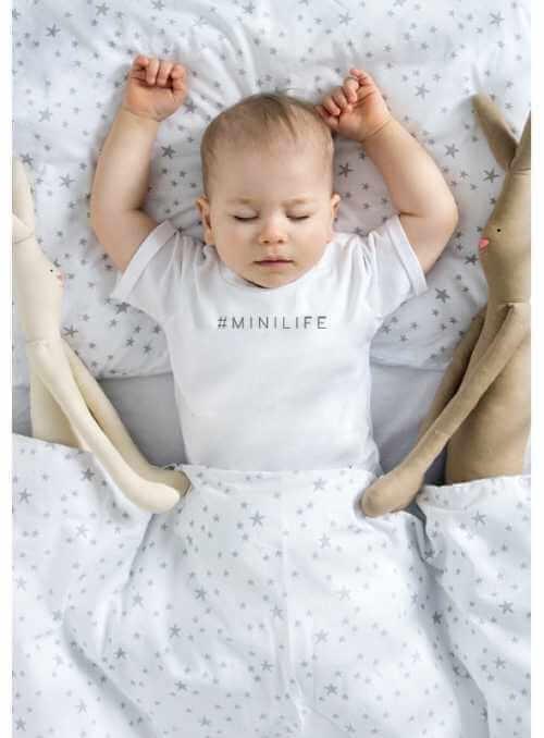 MINILIFE – dětské tričko, bílé
