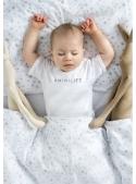 MINILIFE – detské tričko, biele