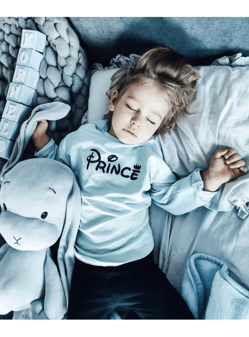 PRINCE - light blue children's sweatshirt