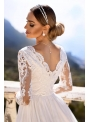 """Maxi šaty """"Adelka"""", biele"""