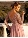 "Maxi šaty ""Adelka"",pudrovoružové"