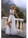 """Maxi šaty """"Amelie"""", krémovo biele"""