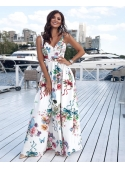 "MAXI DRESS ""SWEET DREAMS white, without revealing the backs"""