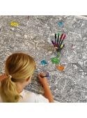 Život v ZOO – interaktivní obrus na vybarvování, vybarvuj a uč se