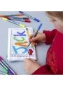 Doodle - interaktívny peračník na vyfarbovanie - vyfarbuj a uč sa