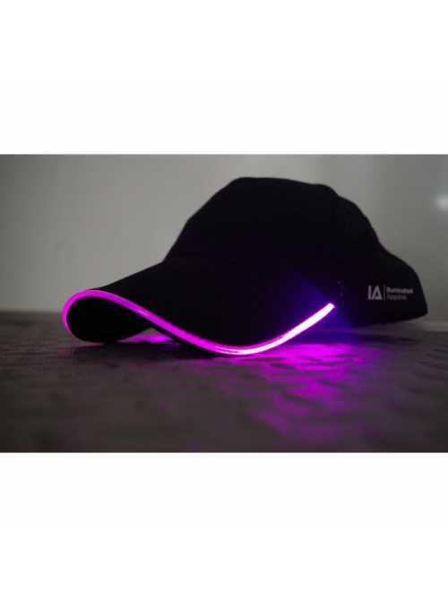 predobjenávka Iluminačná šiltovka s fialovým svetlom