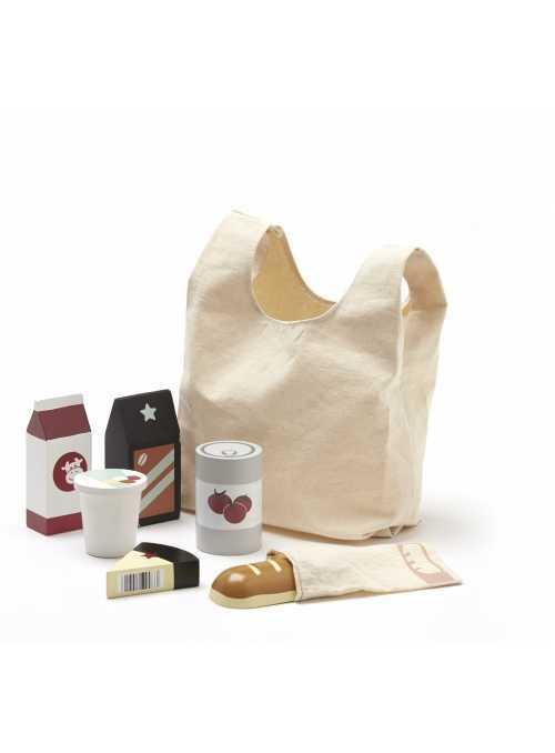 Nákupná taška s nákupom, Bistro
