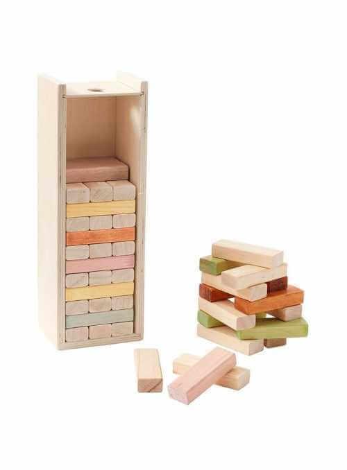 Detské drevené kocky