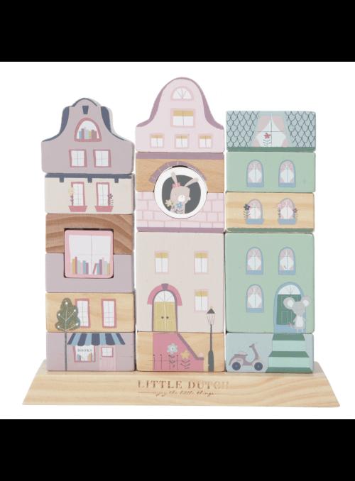 Růžové město, dětská skládačka