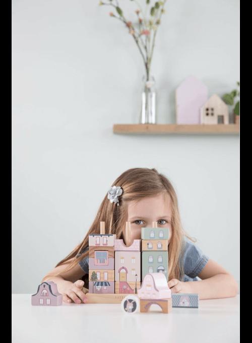 Ružové mesto, detská skladačka