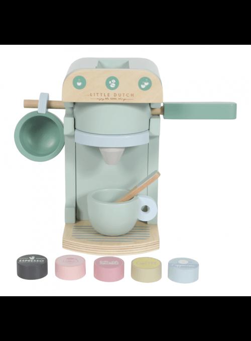 Detský drevený kávovar do kuchynky