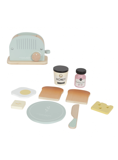 Detský drevený toastovač do kuchynky