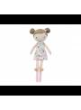 Veľká bábika v škatuľke, dievčatko v.50cm