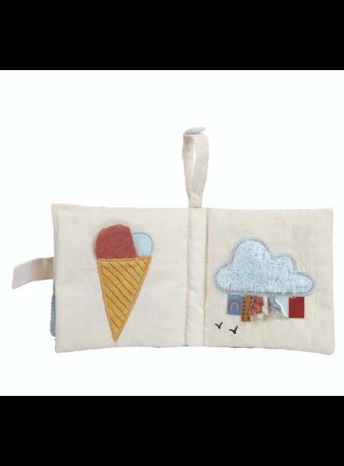 Detská knižka z biobavlny pre bábätko - kolekcia Pure&Nature