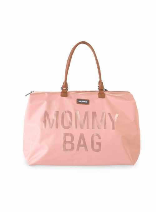 Veľká prebaľovacia taška MOMMY BAG, ružová