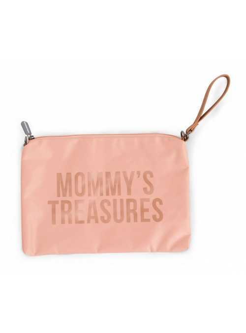 Mini taška s putkom a remienkom MOMMY´S TREASURES, ružová